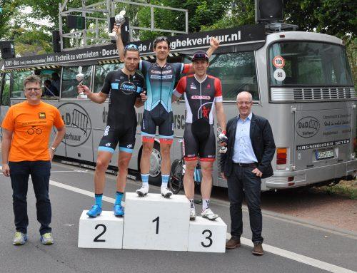 Das 68. Straßen-Radrennen auf der traditionellen Strecke in Lürrip am 24. Juni 2018